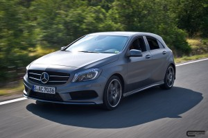 2012 MERCEDES-BENZ A 200 CDI DESIGNO MOUNTAIN GREY MAGNO